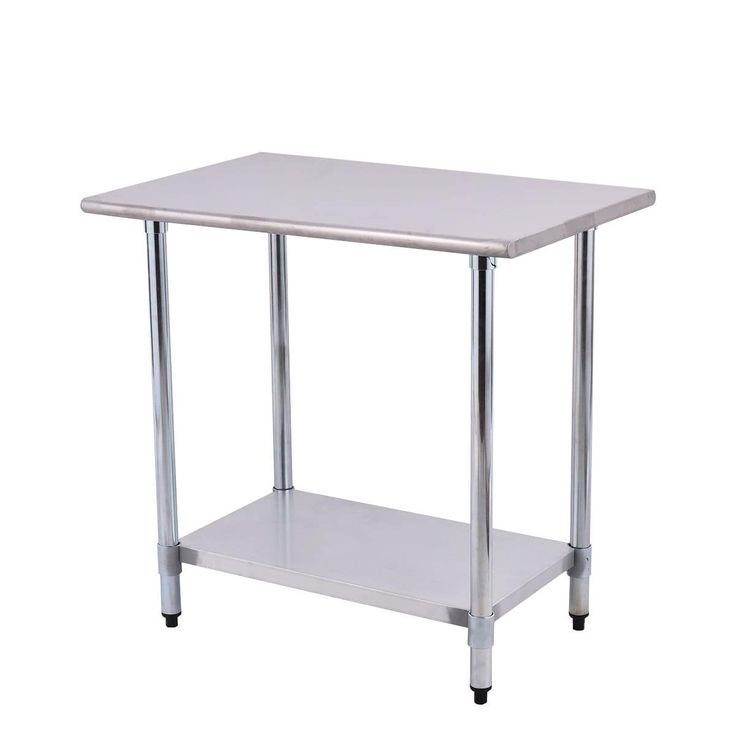 Costway 24'' x 36'' Stainless Steel (Silver) Work Prep Table Commercial Kitchen Restaurant