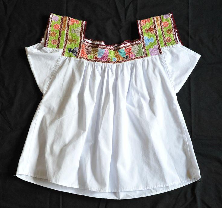 Puebla Nahua Blouse Mexico (Teyacapan) Tags: mexican blouses blusas nahua puebla huahuaxtla embroidered textiles ropa clothing