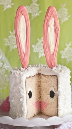 Easter ~ How to make a Bunny Cake ~ complete tutorial!