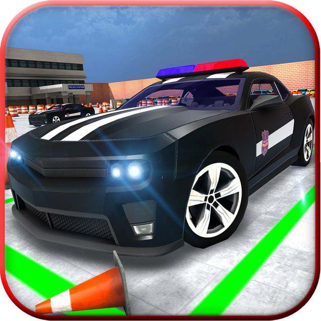 #NEW #iOS #APP Police Car Parking Simulator: Driving School Game - Farhan Shaukat