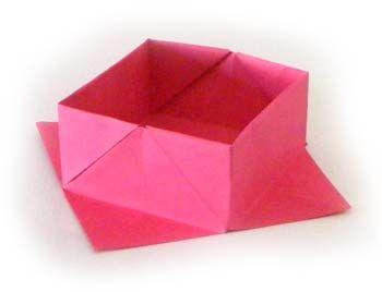25 best pliage en papier ideas on pinterest fleur en papier facile fleurs en papier and - Pliage papier cadeau ...