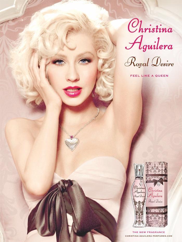 Christina Aguilera Royal Desire Perfume Ad. Gorgeous!