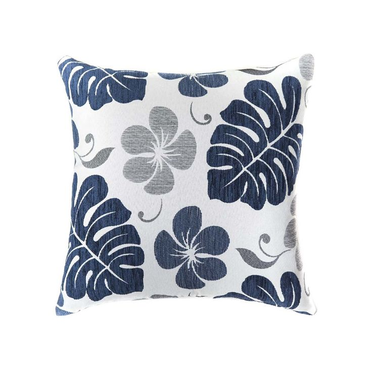 FIJI DENIM Hawaiian Throw Cushion