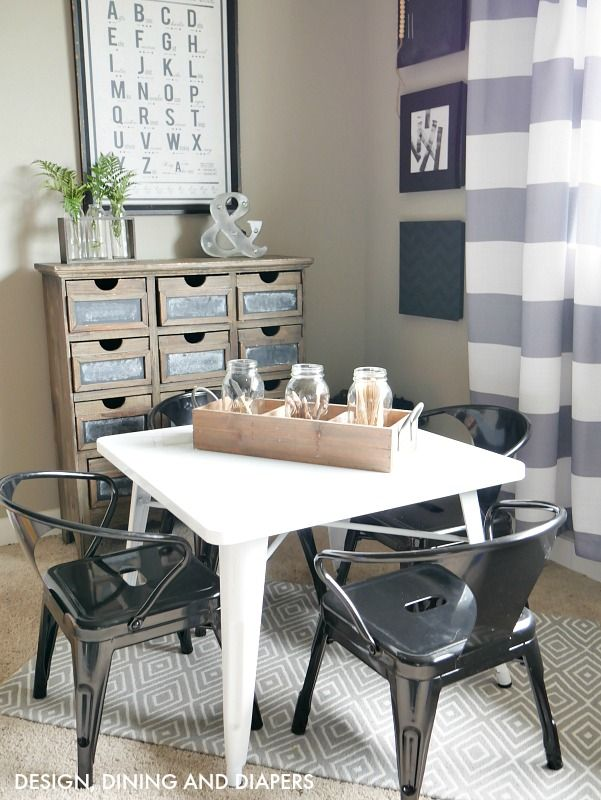 Farmhouse Kids' Table and chairs