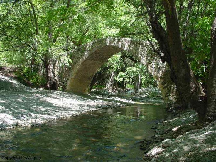 Venetian bridge, Cyprus
