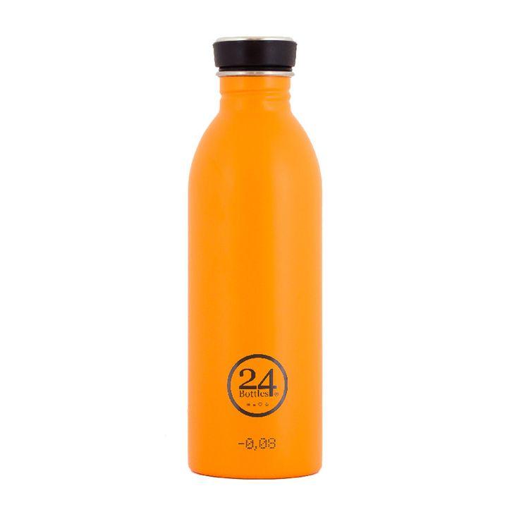 #24bottles #orange #stainless #steel #mehrgruen