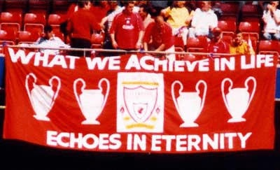 What we achieve in life...Liverpool Fc, Liverpool Quotes, Flags Competition, Lfc Flags, Lfc Banners, Favorite Team