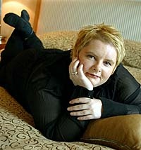 Magda Szubanski - once voted Australia's most lovable personality and now being crucified in the media for putting on weight.  She lost 38 kilos with Jenny Craig and has put 14 kilos back on - diets don't work, especially a multi-million dollar organisation selling a diet plan, not a life sustaining plan.