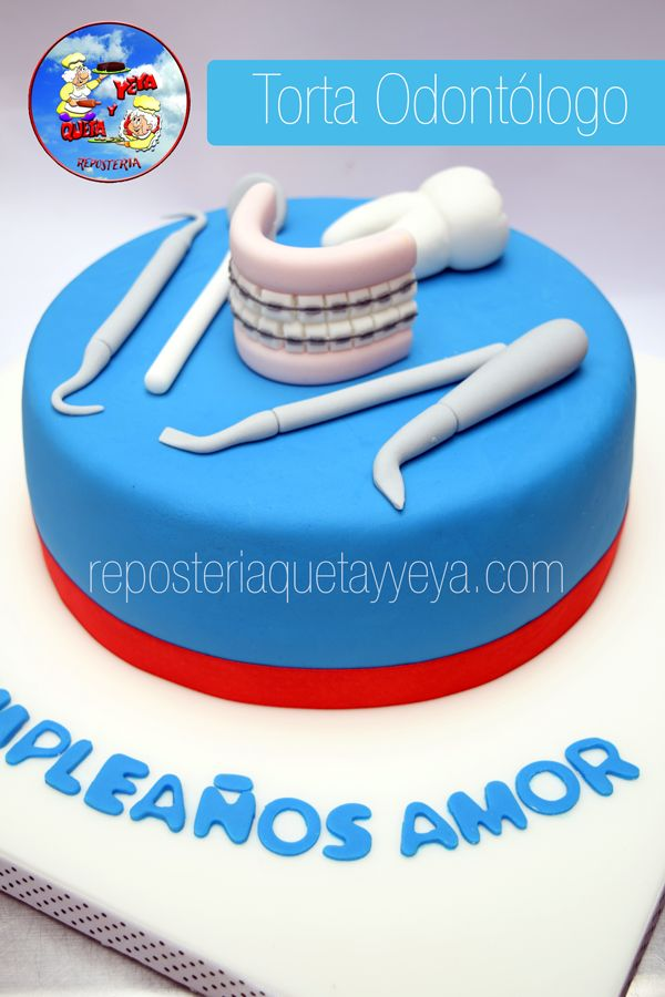 Torta Odontologo - Dentist Cake