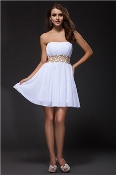 A-Line/Princess Strapless #Short/Mini  #homecoming #dresses #2016 #cheap