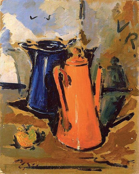 Filippo De Pisis Coffee Pots 1942