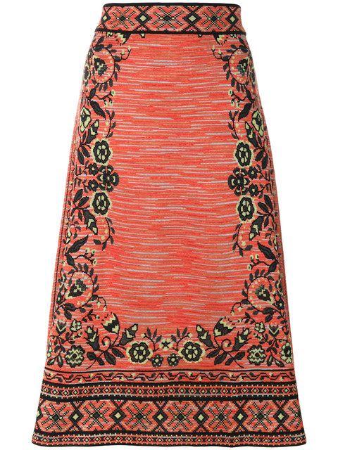 Shop M Missoni knit midi skirt.