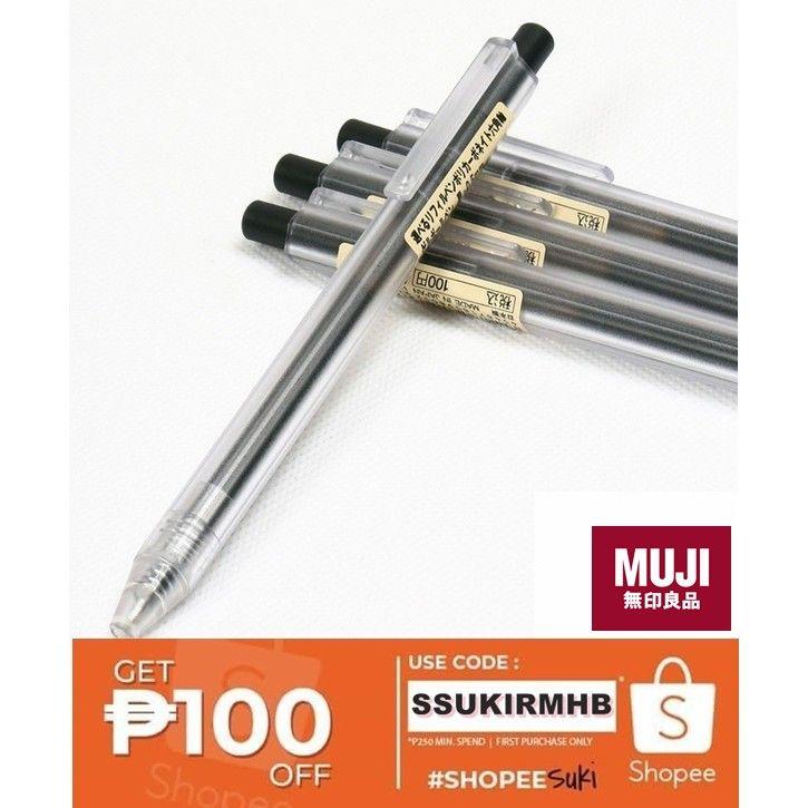 Muji Gel Ink Pen Shopee Philippines Gel Ink Pens Ink