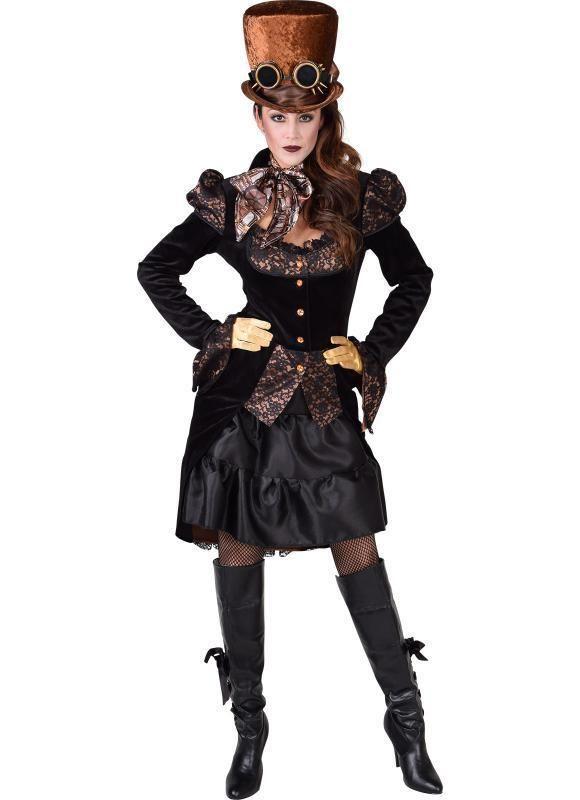 abd98656cacf4e Barock Rokoko Jacke Rokokokostüm Steampunk Damen Baronin Maquisin Kostüm  Kleid | eBay