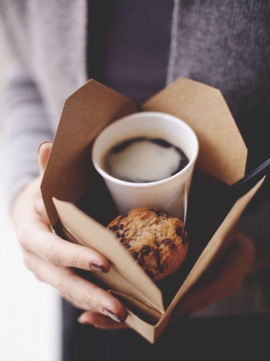Coffee + scones