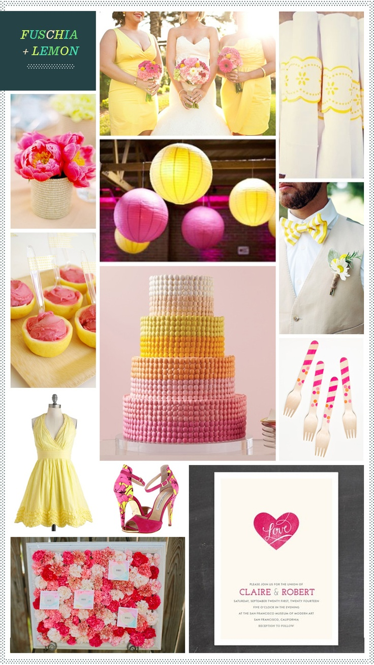 REVEL: Fuschia and Lemon