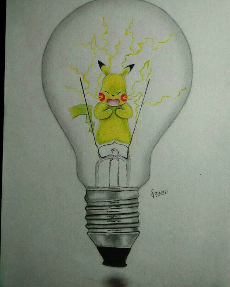 Pikachu gives you light