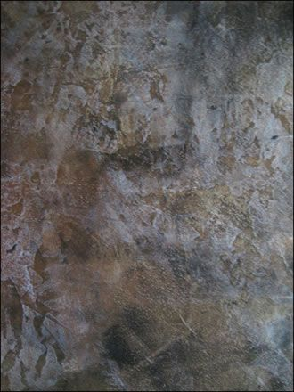 Plaster Mural Wall Art
