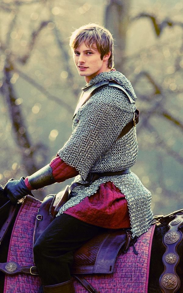 Arthur. On a horse. What more do you need?