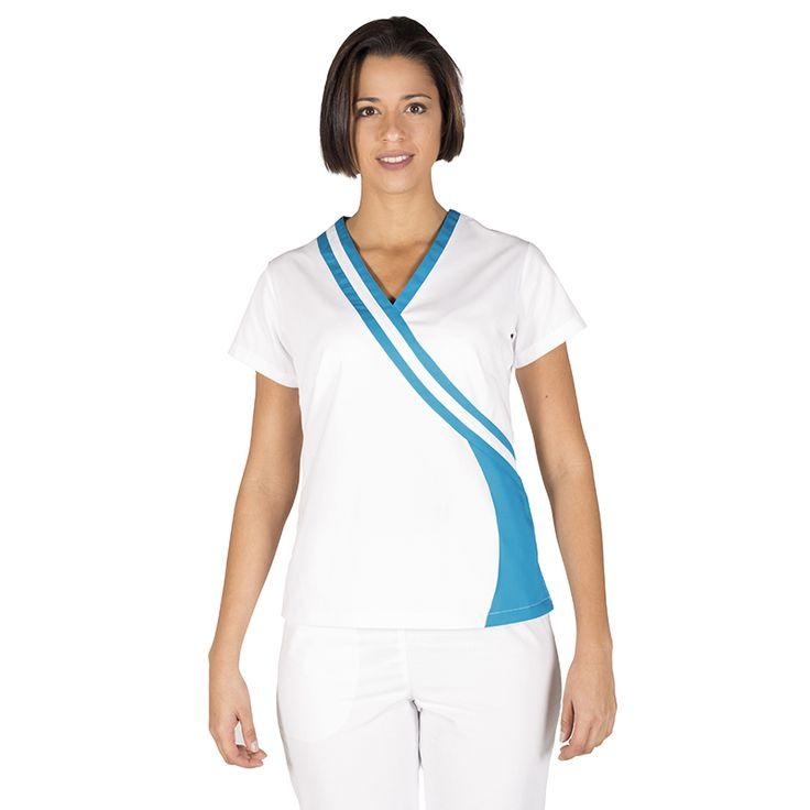Las 25 mejores ideas sobre blusas para uniformes en - Uniformes sanitarios modernos ...