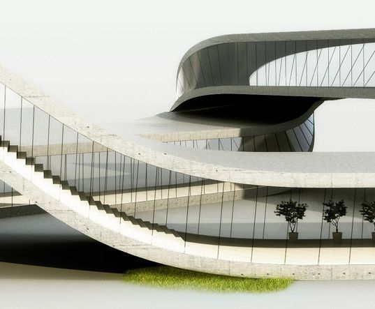 10 best architecture inspired by water images on pinterest for Movement architecture concept
