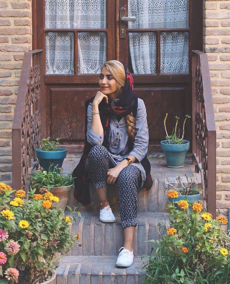 Persian Girl , Negarestan Garden , Tehran , Iran