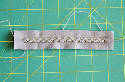Not Only Quilts: Bracelet Tutorial