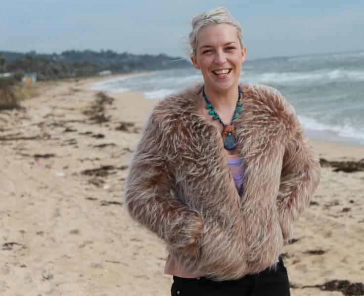 ♥ ebats11.com - Look Good Feel Great ♥  Furry Floss Jacket $189.00 AUD  Unreal Fur (Faux)