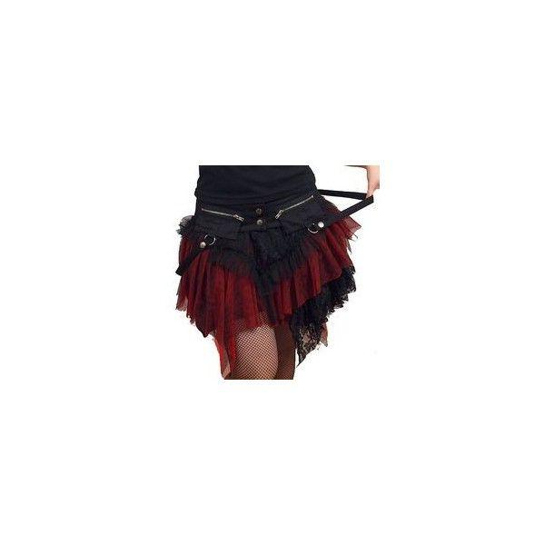 White Tulle Layer Fringe Short Mini Gothic Lolita Tutu Skirt Clothing... ❤ liked on Polyvore featuring skirts, mini skirts, short tulle skirt, white tutu skirt, tutu skirts, gothic skirts and tulle tutu skirt