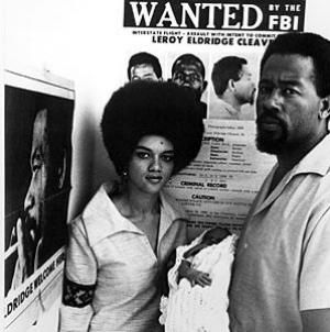 Kathleen and Eldridge Cleaver in Algiers after the birth of their first child. The Black Panther Party had established an international section in Algeria during 1969. by Pan-African News Wire File Photos, via Flickr