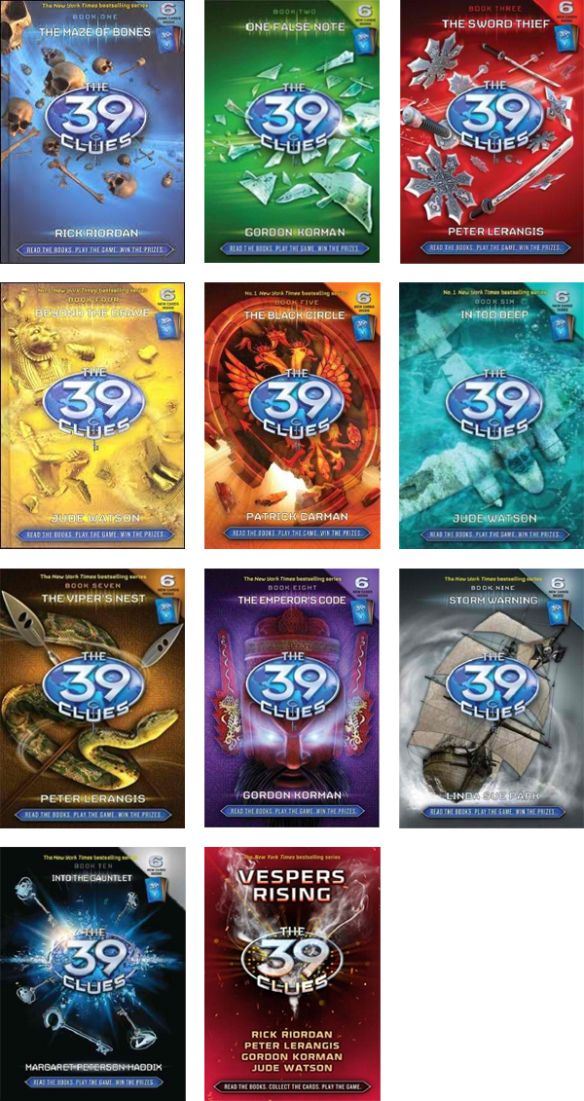 [ The 39 Clues Series, by Various ]
