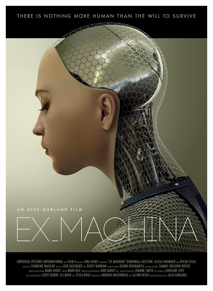 Ex Machina. See also http://www.theatlantic.com/entertainment/archive/2015/04/ex-machina-review/390147/
