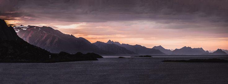 Midnight Sun - Lofoten, Norway - Imgur