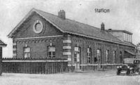 Er was eens heel lang geleden ... een stationnetje in Haelen. Met een suikerbietenoverslagplaats om de bieten van Midden Limburg met de trein naar de fabriek te brengen.