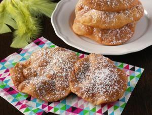 Cómo hacer orejas de Carnaval #postre #receta #comida #dulce