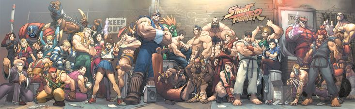 Street Fighter Street Jam by UdonCrew.deviantart.com on @deviantART