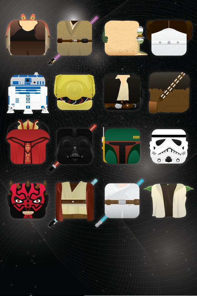 IPhone Star Wars Icons