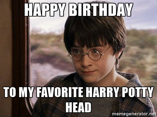 Image result for funny birthday harry potter memes