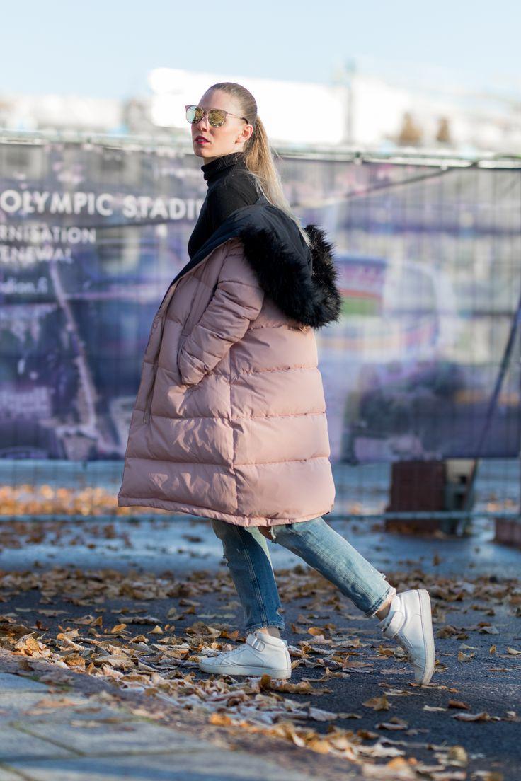 The cozy Zara coat