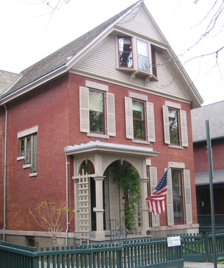 The Susan B. Anthony House In Rochester, New York is full of history and resources of women's suffrage.