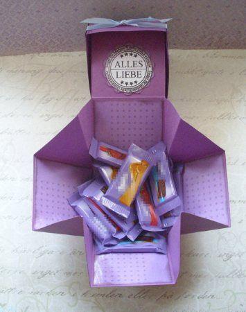 Mini und Maxi Anleitungen: Boxkarte