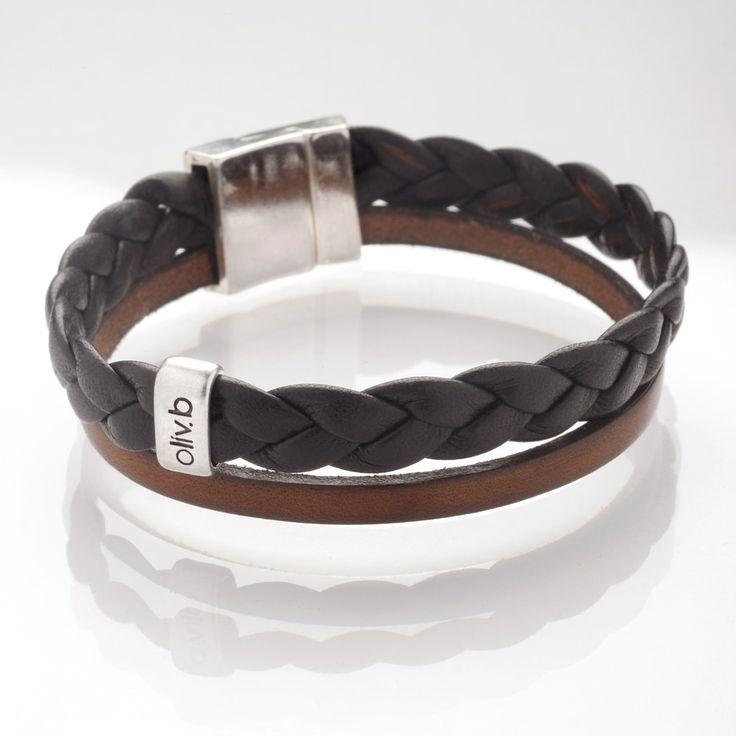 #jewelry Bracelet cuir homme