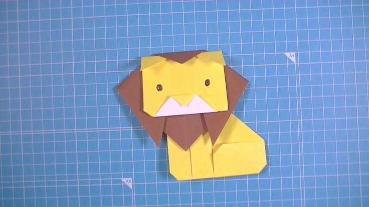 Easy Origami Lion