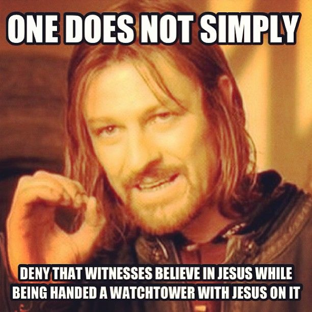 Yes, Jehovah's witnesses believe in Jesus, very much. Don't judge a witness till you hear their testimony.