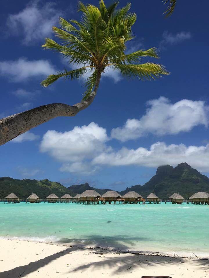 Beautiful day in Bora Bora. This amazing island is just 8 hours flight from California. | BoraBoraPhotos.com