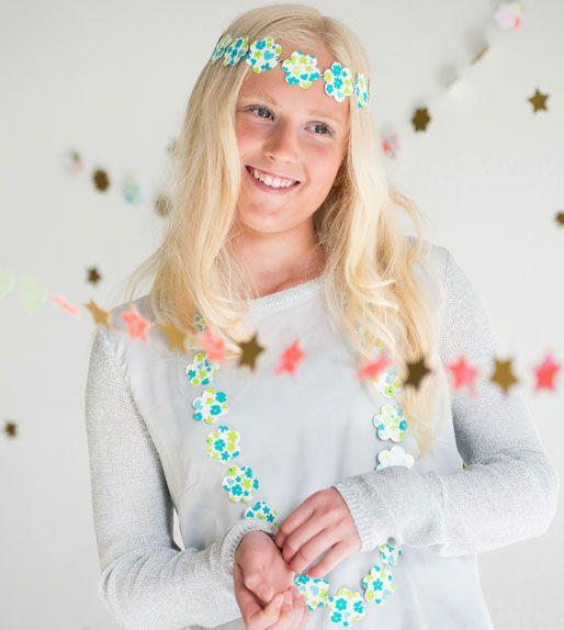 Zo maak je de mooiste DIY's met papier...  #knutselen #slinger #feest #confetti #pons #perforator