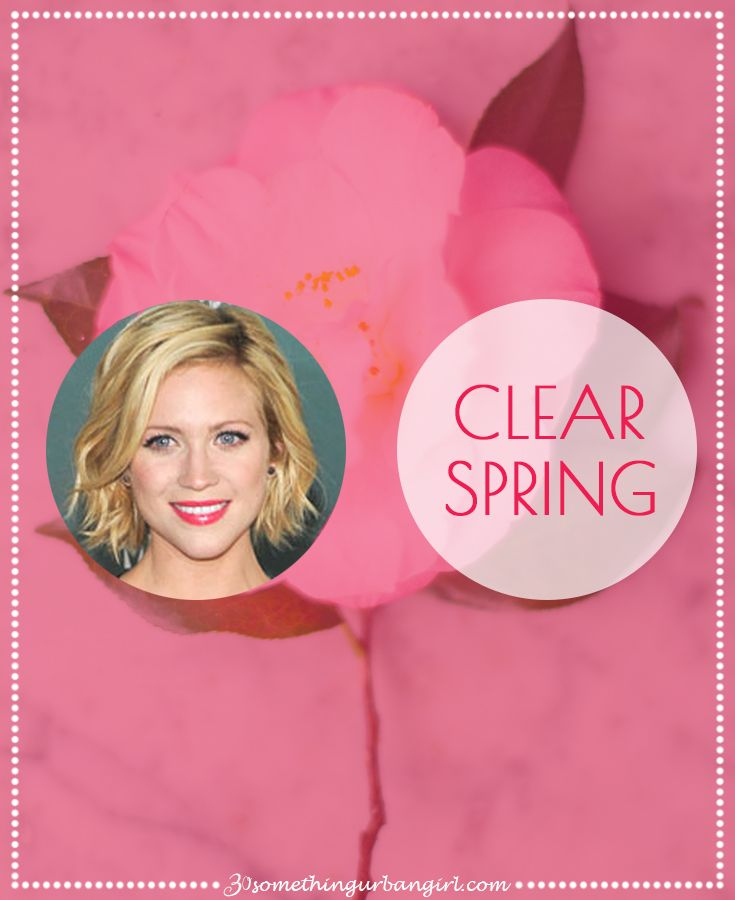 What are my best colors according to my overall look? This is an easy to understand and detailed post with celebrity examples about the Clear Spring ladies.