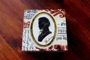 Mr. Bethoven – pudełko na drobiazgi