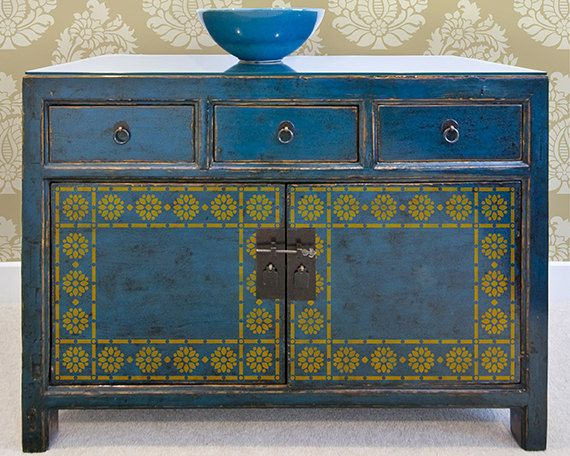 Hey, I found this really awesome Etsy listing at https://www.etsy.com/uk/listing/183839442/indian-flower-border-stencil-furniture