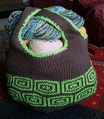 Mosaic Market Bag pattern by Sharyn Anhalt